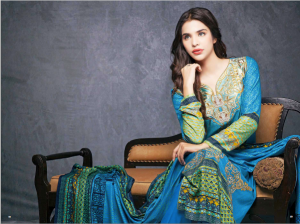 House Of Ittehad Royal Embroidered Series Winter Dresses Collection 2014-2015