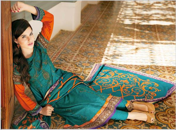 House Of ittehad Royal Embroidered Series Winter Dresses Collection 2014-2015 (9)