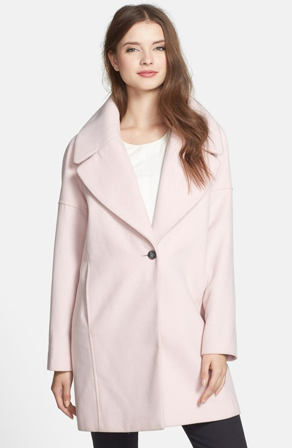 LATEST FASHION WOMEN'S OUTERWEAR BEST WINTER COATS AND JACKETS COLLECTION BY CALVIN KLEIN 2014-2015 (3)