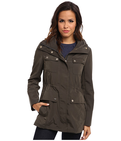 LATEST FASHION WOMEN'S OUTERWEAR BEST WINTER COATS AND JACKETS COLLECTION BY CALVIN KLEIN 2014-2015 (8)