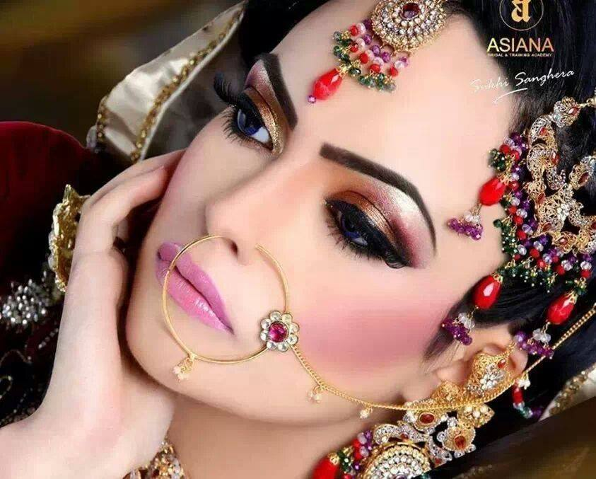 Latest Best Pakistani Bridal Makeup Ideas & Tips (2)