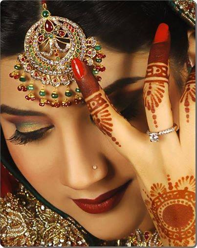 Latest Best Pakistani Bridal Makeup Ideas & Tips (4)