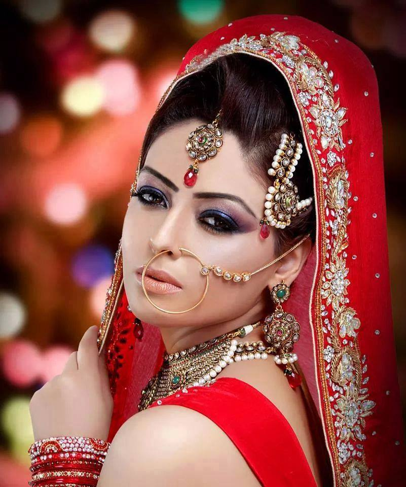 Latest Best Pakistani Bridal Makeup Ideas & Tips (5)