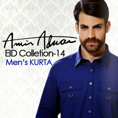 Latest Best Winter Dresses Collection for Men by Pakistani Brands 2014-2015 - Amir Adnan (5)