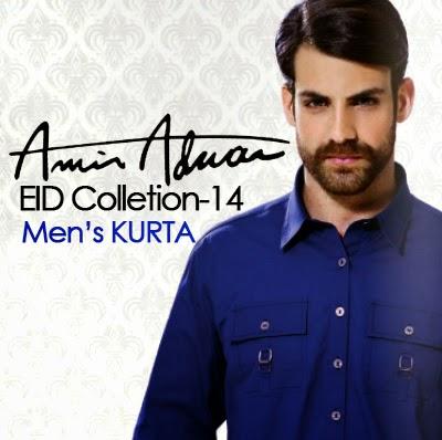 Latest Best Winter Dresses Collection for Men by Pakistani Brands 2014-2015 - Amir Adnan (5)