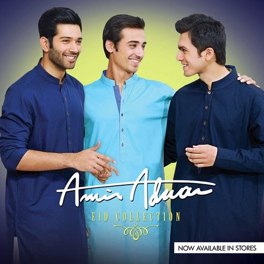 Latest Best Winter Dresses Collection for Men by Pakistani Brands 2014-2015 - Amir Adnan (6)