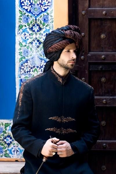 Latest Best Winter Dresses Collection for Men by Pakistani Brands 2014-2015 - Amir Adnan (7)
