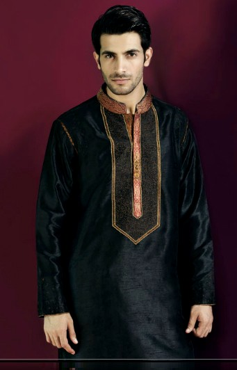Latest Best Winter Dresses Collection for Men by Pakistani Brands 2014-2015 - Amir Adnan (8)