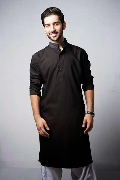 Latest Best Winter Dresses Collection for Men by Pakistani Brands 2014-2015 - Bonanza (4)