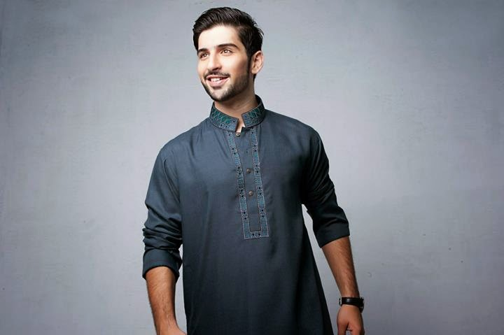 Latest Best Winter Dresses Collection for Men by Pakistani Brands 2014-2015 - Bonanza (5)