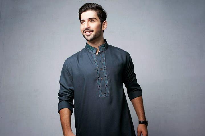 Latest Best Winter Dresses Collection for Men by Pakistani Brands 2014-2015 - Bonanza (5)