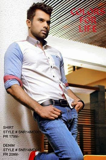 Latest Best Winter Dresses Collection for Men by Pakistani Brands 2014-2015 - RIVERSTONE (1)
