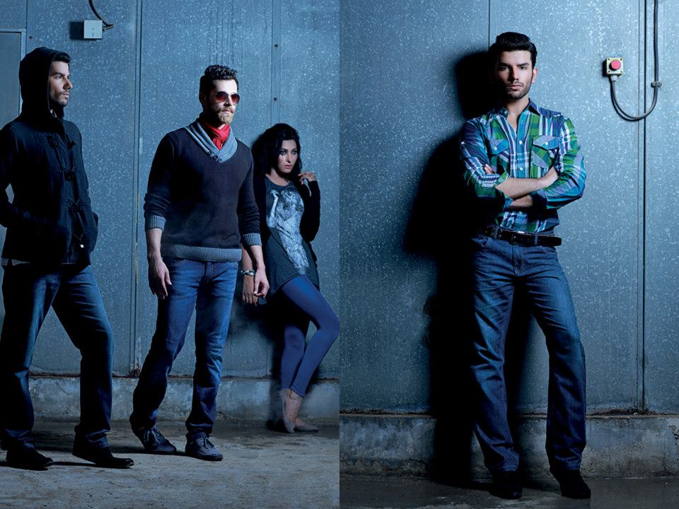 Latest Best Winter Dresses Collection for Men by Pakistani Brands 2014-2015 - RIVERSTONE (4)