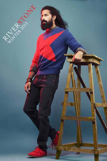 Latest Best Winter Dresses Collection for Men by Pakistani Brands 2014-2015 - RIVERSTONE (5)