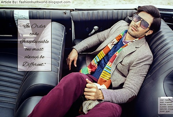 Latest Best Winter Dresses Collection for Men by Pakistani Brands 2014-2015 - Stonage (1)