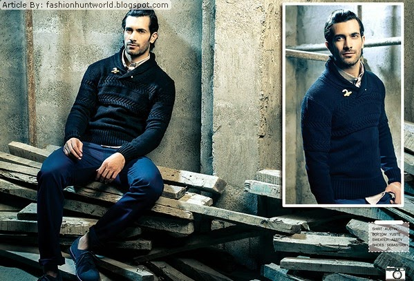 Latest Best Winter Dresses Collection for Men by Pakistani Brands 2014-2015 - Stonage (5)
