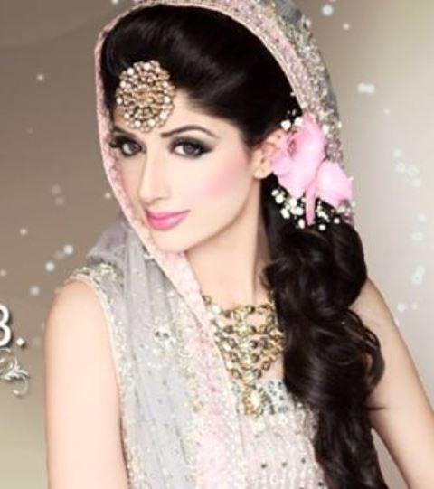 Hairstyles Pakistani Bridal Makeup: Latest Best Pakistani Bridal Makeup Tips & Ideas
