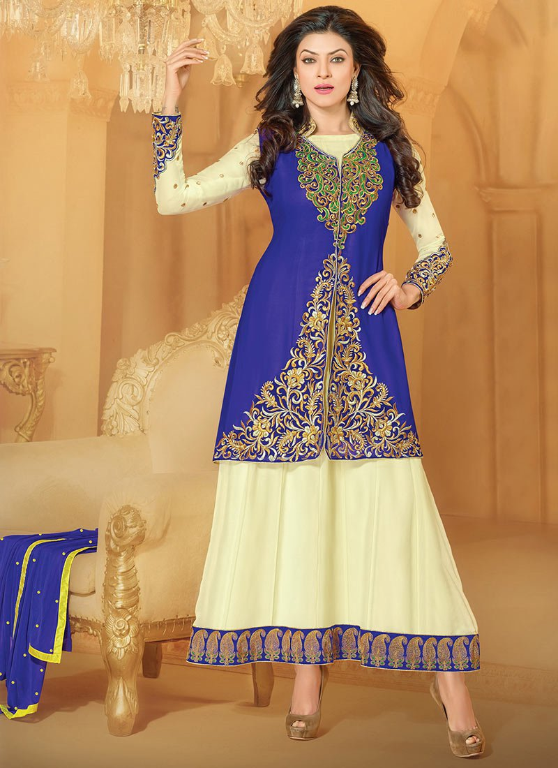 Latest Indian Kalidar Suits Best Salwar Kameez Collection for Women  2014-2015 (11)
