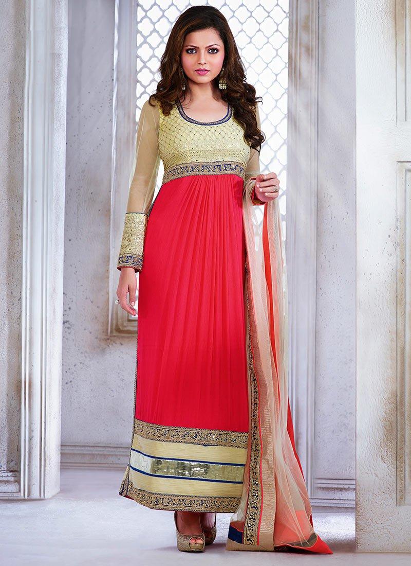 Latest Indian Kalidar Suits Best Salwar Kameez Collection for Women  2014-2015 (14)
