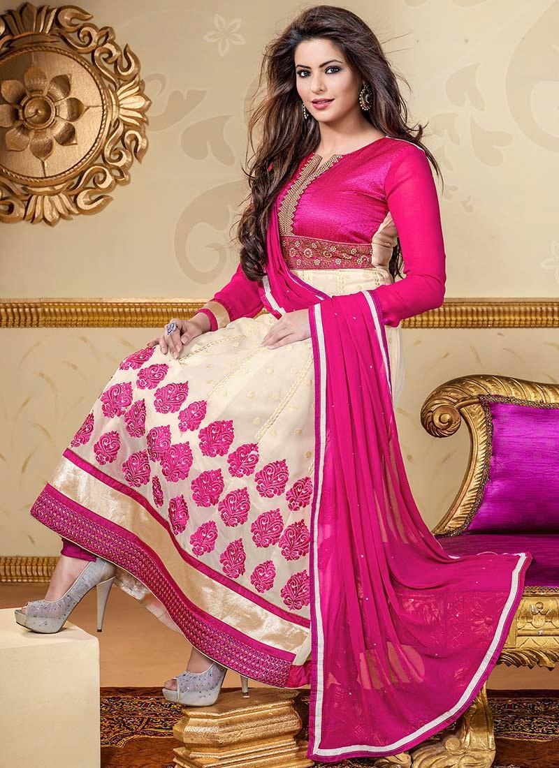 Latest Indian Kalidar Suits Best Salwar Kameez Collection for Women  2014-2015 (15)