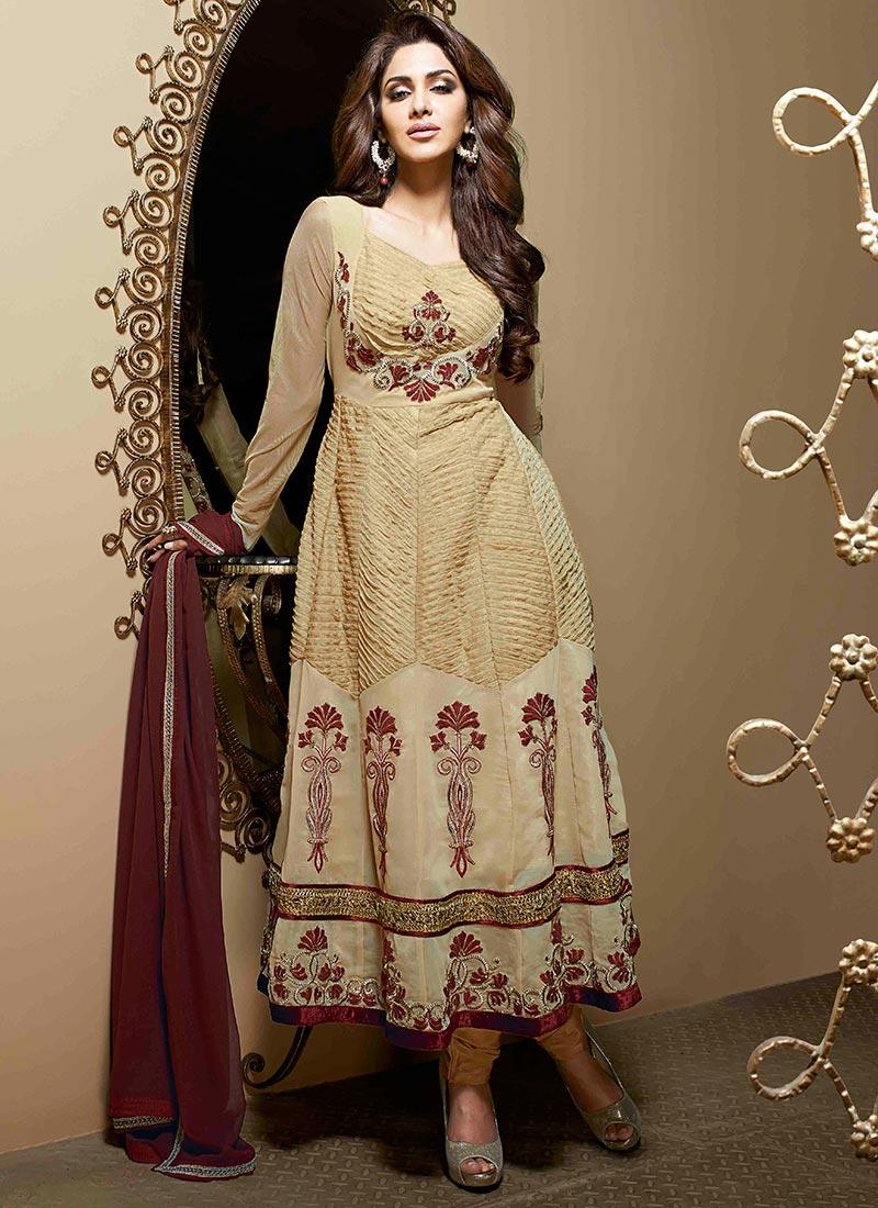 Latest Indian Kalidar Suits Best Salwar Kameez Collection for Women  2014-2015 (16)