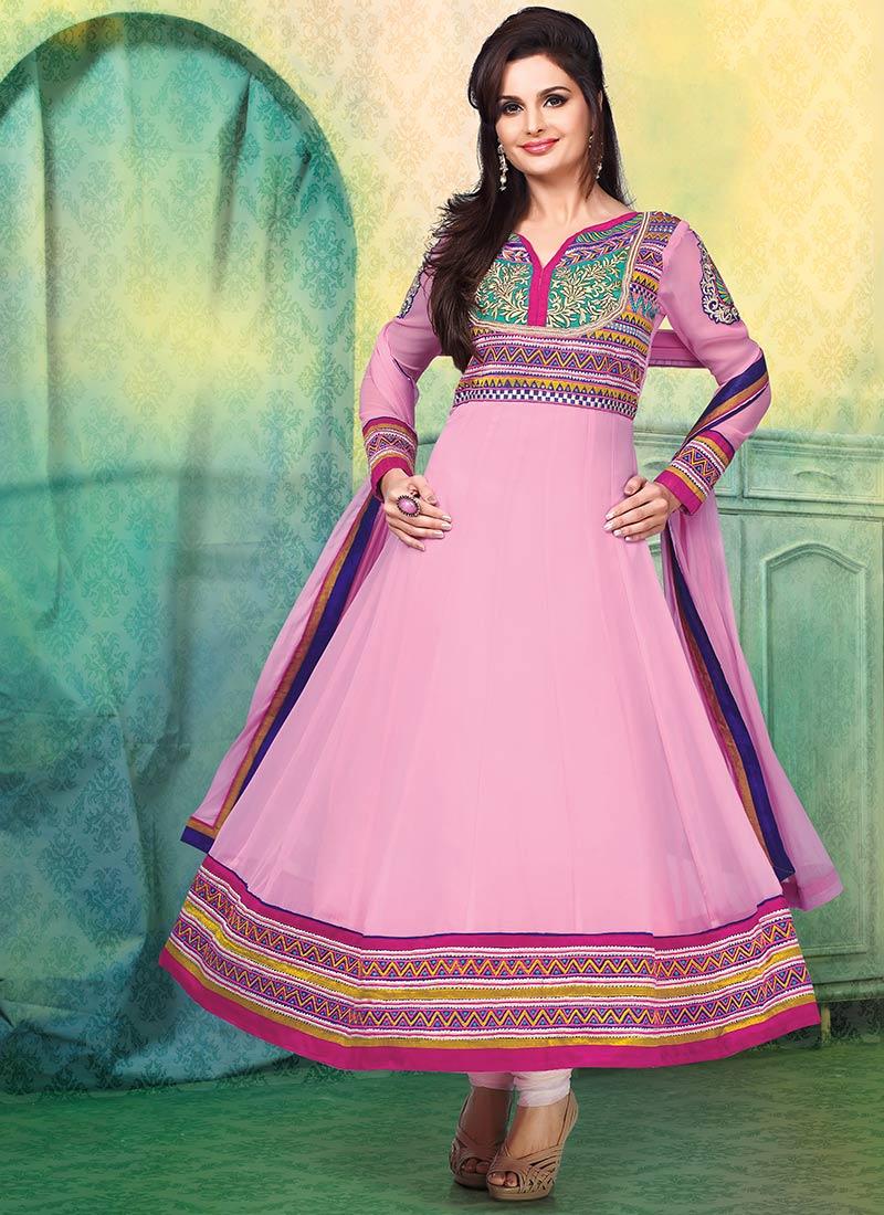 Latest Indian Kalidar Suits Best Salwar Kameez Collection for Women  2014-2015 (17)