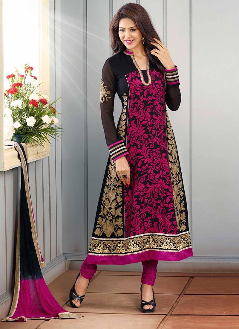 Latest Indian Kalidar Suits Best Salwar Kameez Collection for Women  2014-2015 (2)