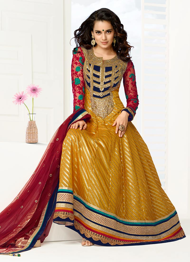 Latest Indian Kalidar Suits Best Salwar Kameez Collection for Women  2014-2015 (20)