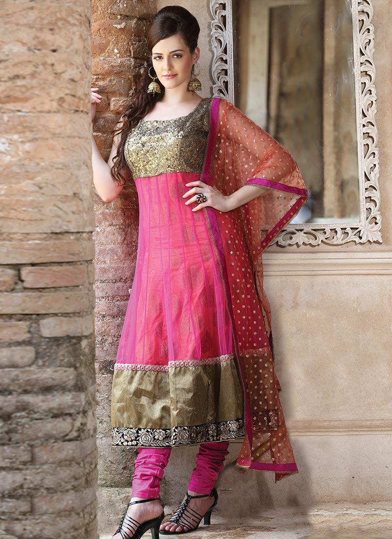 Latest Indian Kalidar Suits Best Salwar Kameez Collection for Women 2014-2015 (22)