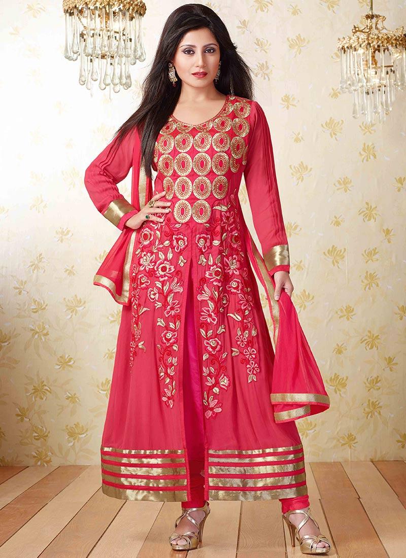 Latest Indian Kalidar Suits Best Salwar Kameez Collection for Women  2014-2015 (25)