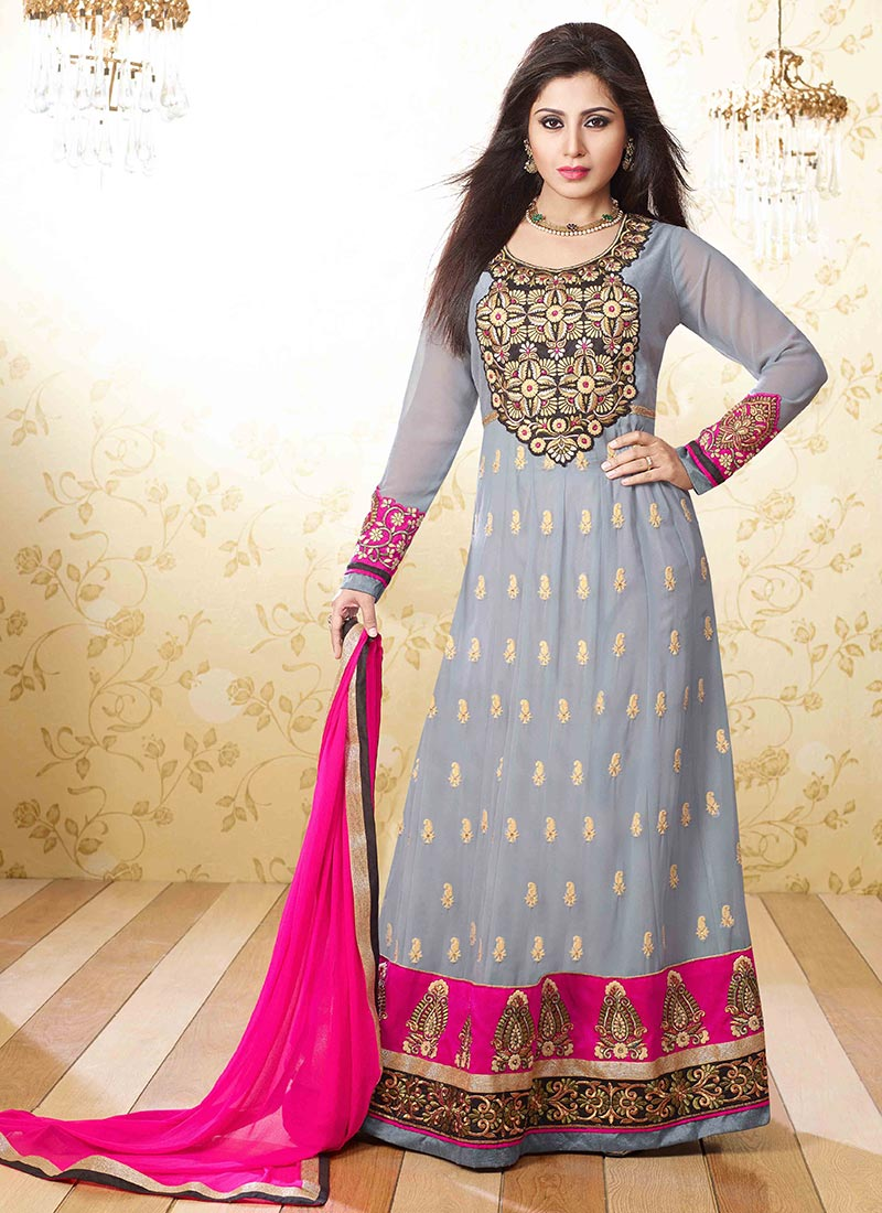 Latest Indian Kalidar Suits Best Salwar Kameez Collection for Women 2014-2015 (3)