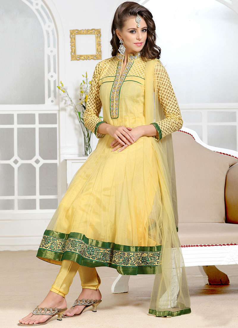 Latest Indian Kalidar Suits Best Salwar Kameez Collection for Women 2014-2015 (4)