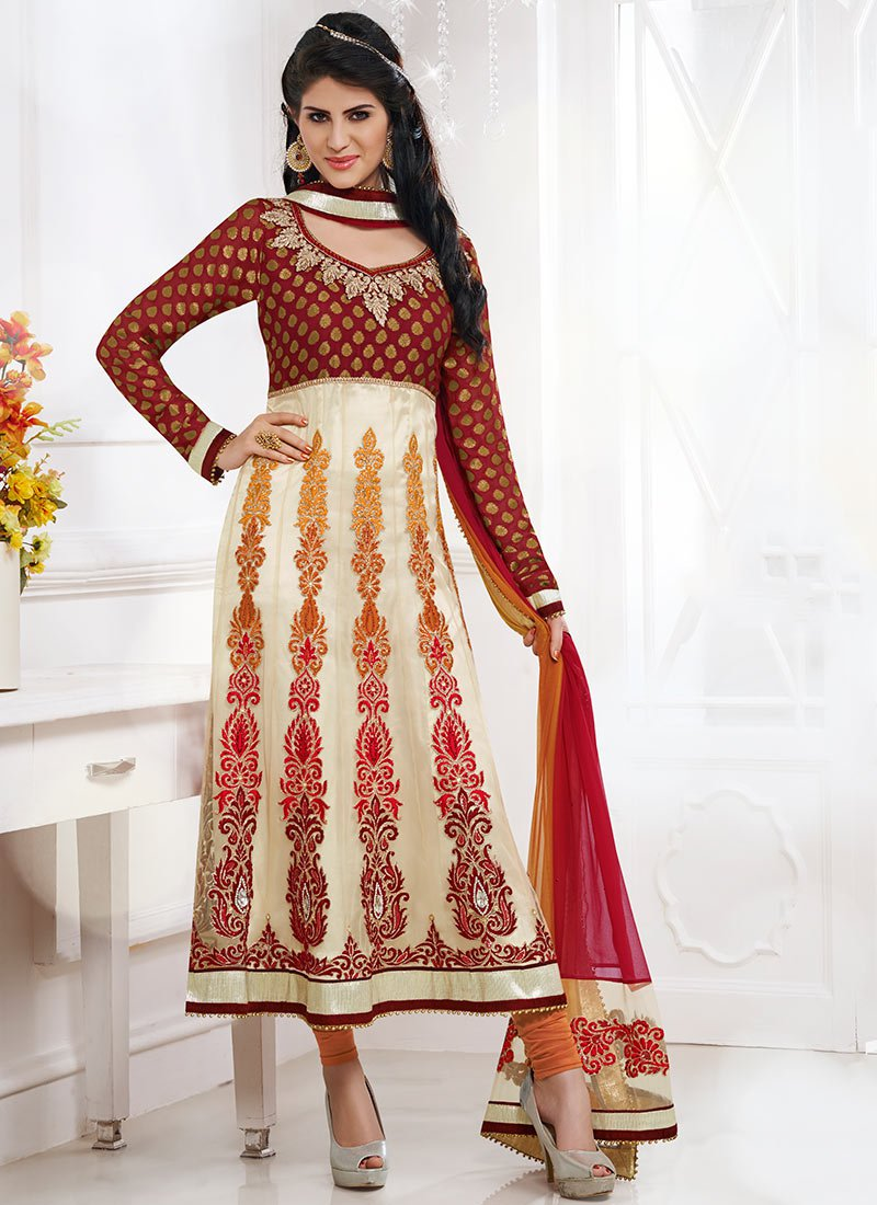 Latest Indian Kalidar Suits Best Salwar Kameez Collection for Women  2014-2015 (6)
