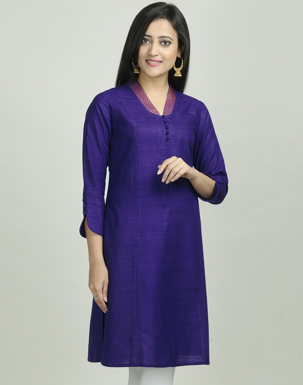 Latest Women Best Kurti Designs Collection For Winter by Fabindia 2015-2016 (1)