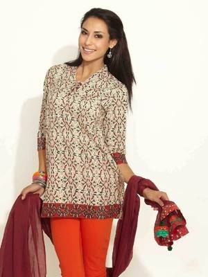 Latest Women Best Kurti Designs Collection For Winter by Fabindia 2015-2016 (11)
