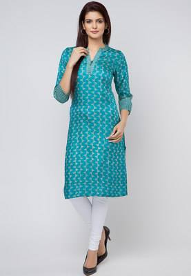 Latest Women Best Kurti Designs Collection For Winter by Fabindia 2015-2016 (12)