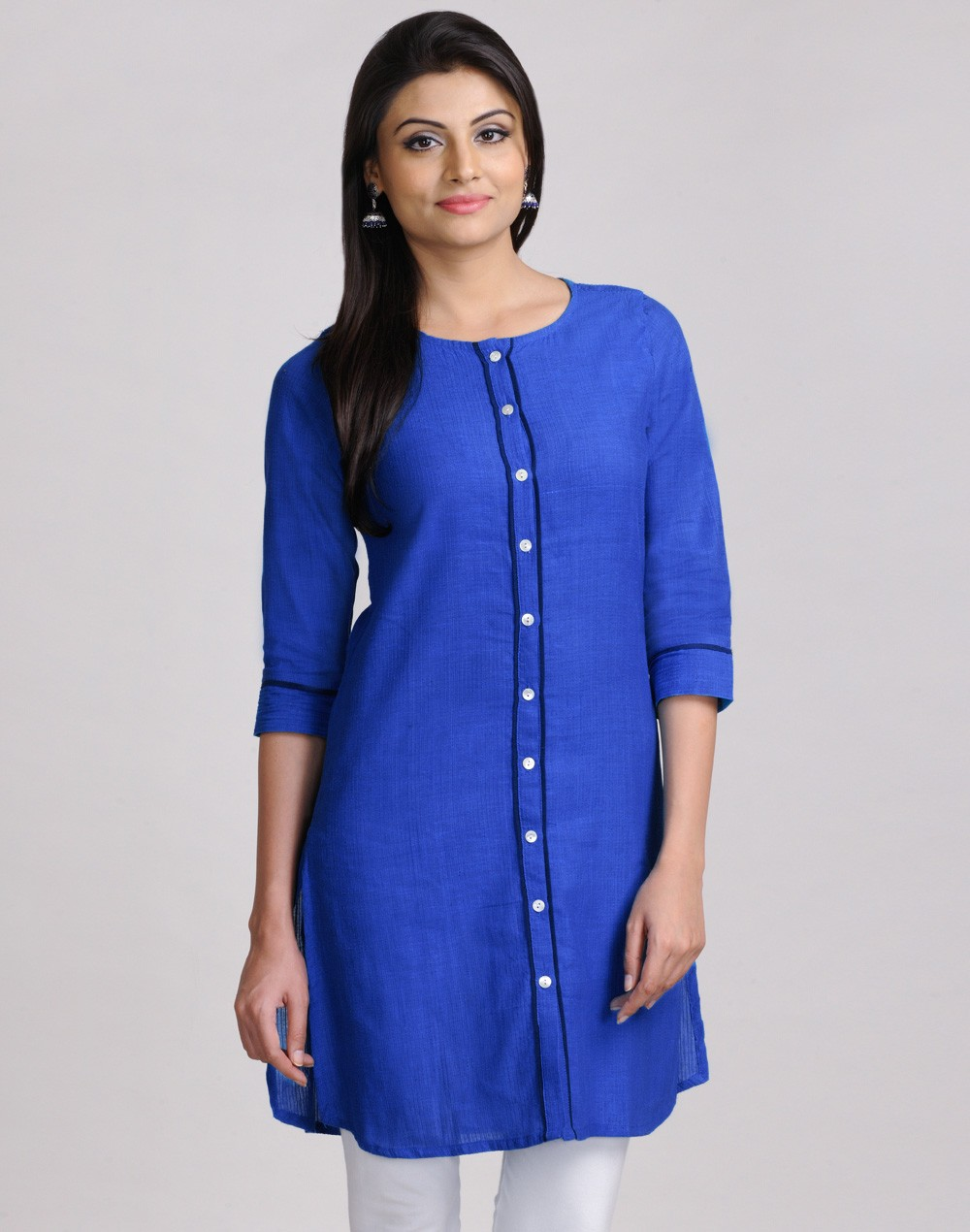 Latest Women Best Kurti Designs Collection For Winter by Fabindia 2015-2016 (15)