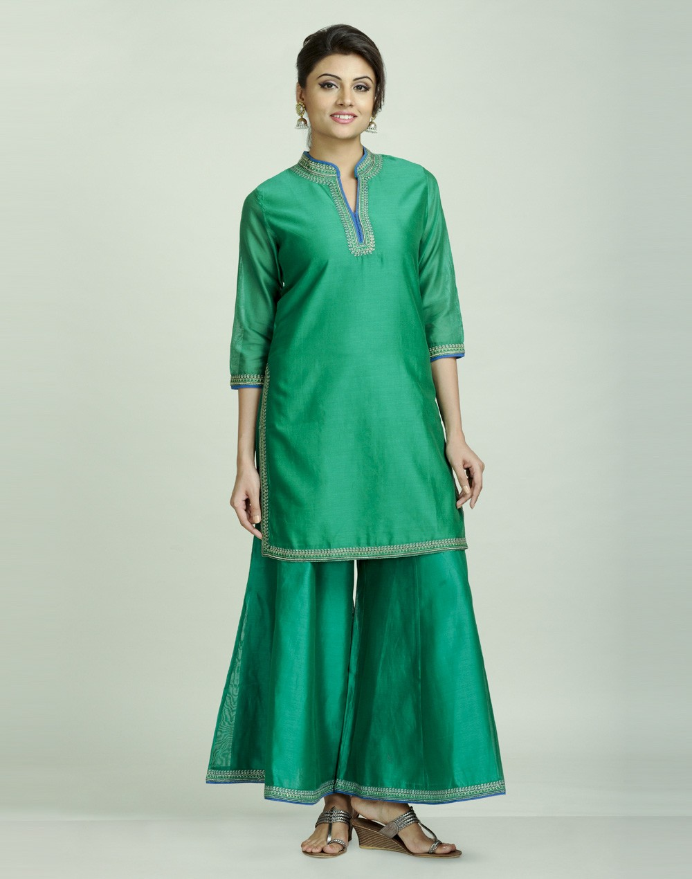 Latest Women Best Kurti Designs Collection For Winter by Fabindia 2015-2016 (18)