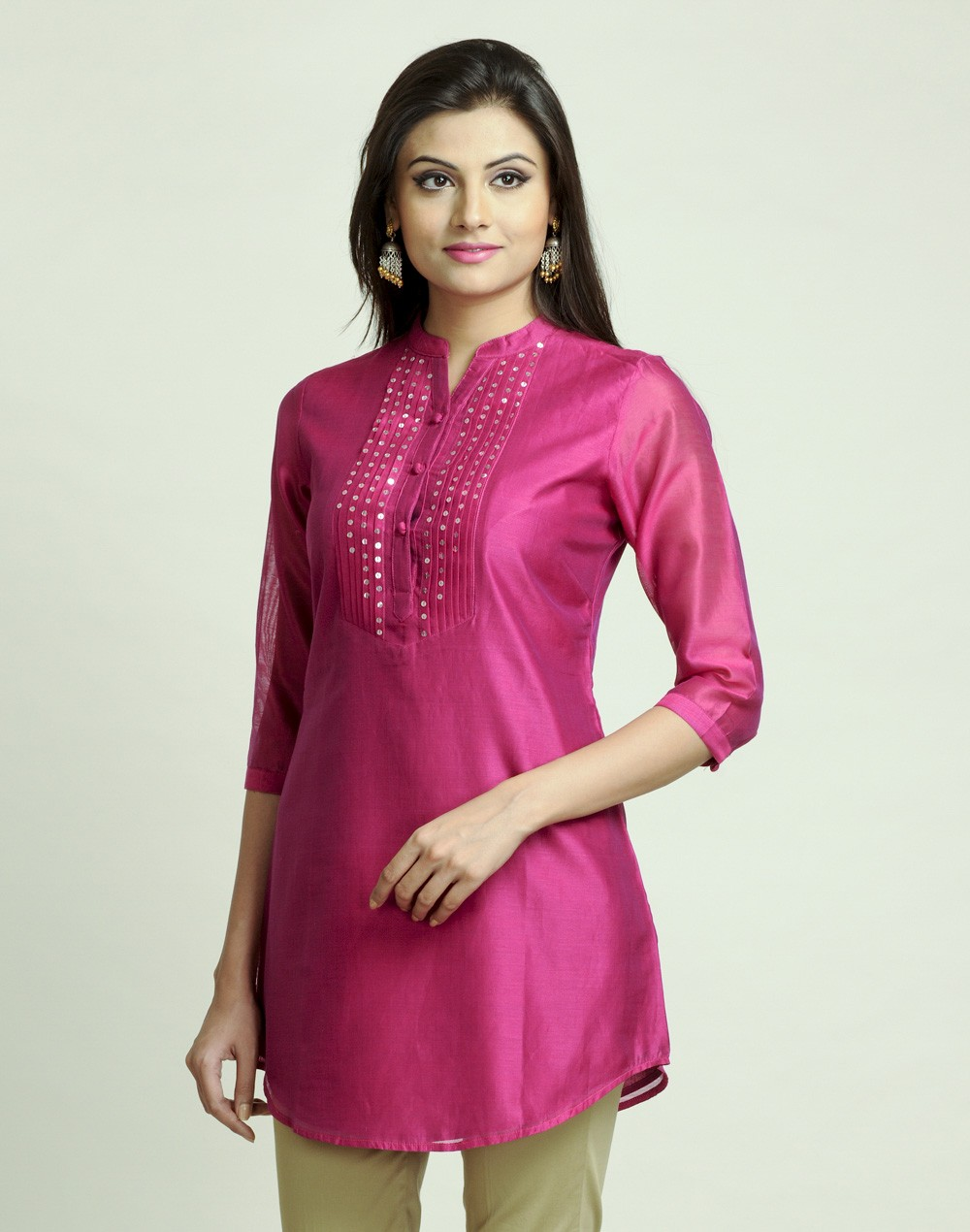Latest Women Best Kurti Designs Collection For Winter by Fabindia 2015-2016 (19)