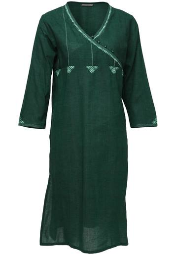 Latest Women Best Kurti Designs Collection For Winter by Fabindia 2015-2016 (2)