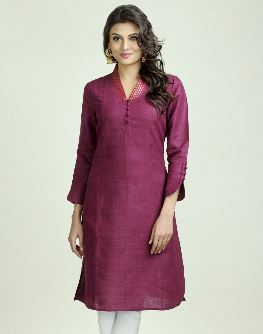 Latest Women Best Kurti Designs Collection For Winter by Fabindia 2015-2016 (20)
