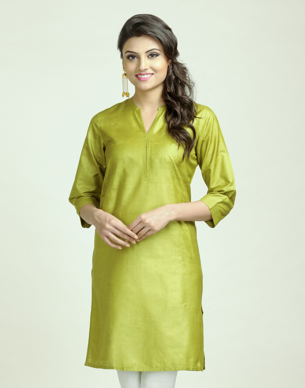 Latest Women Best Kurti Designs Collection For Winter by Fabindia 2015-2016 (22)