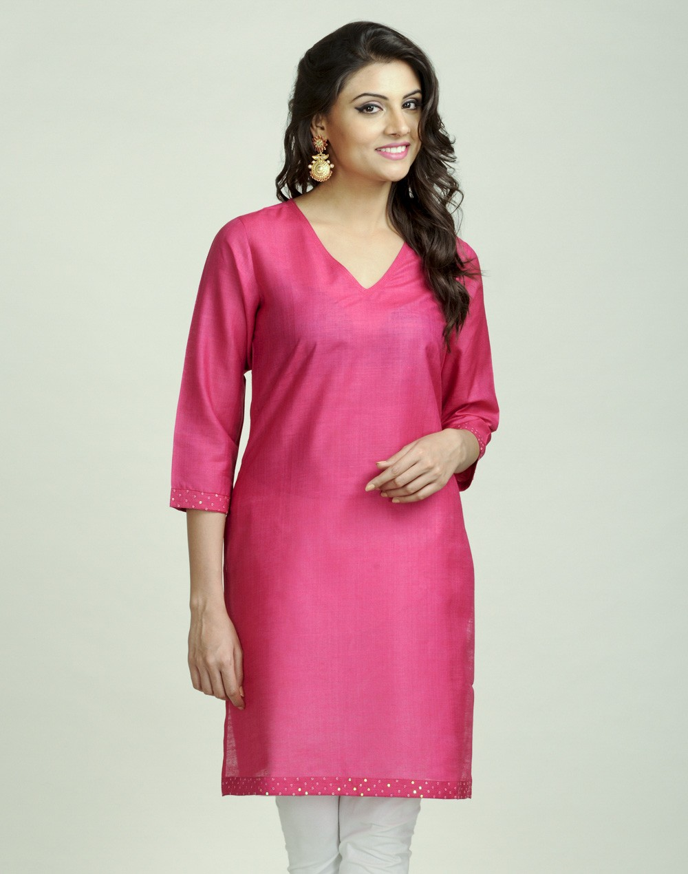 Latest Women Best Kurti Designs Collection For Winter by Fabindia 2015-2016 (23)