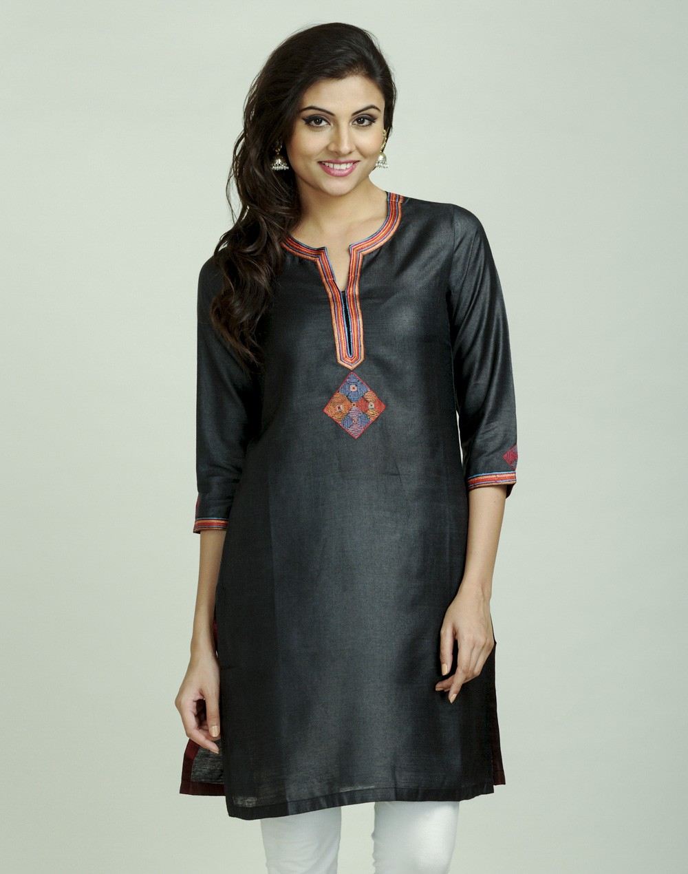Latest Women Best Kurti Designs Collection For Winter by Fabindia 2015-2016 (24)
