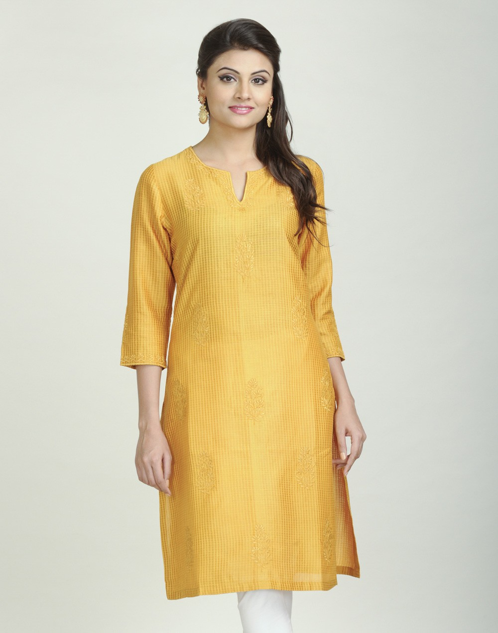 Latest Women Best Kurti Designs Collection For Winter by Fabindia 2015-2016 (26)