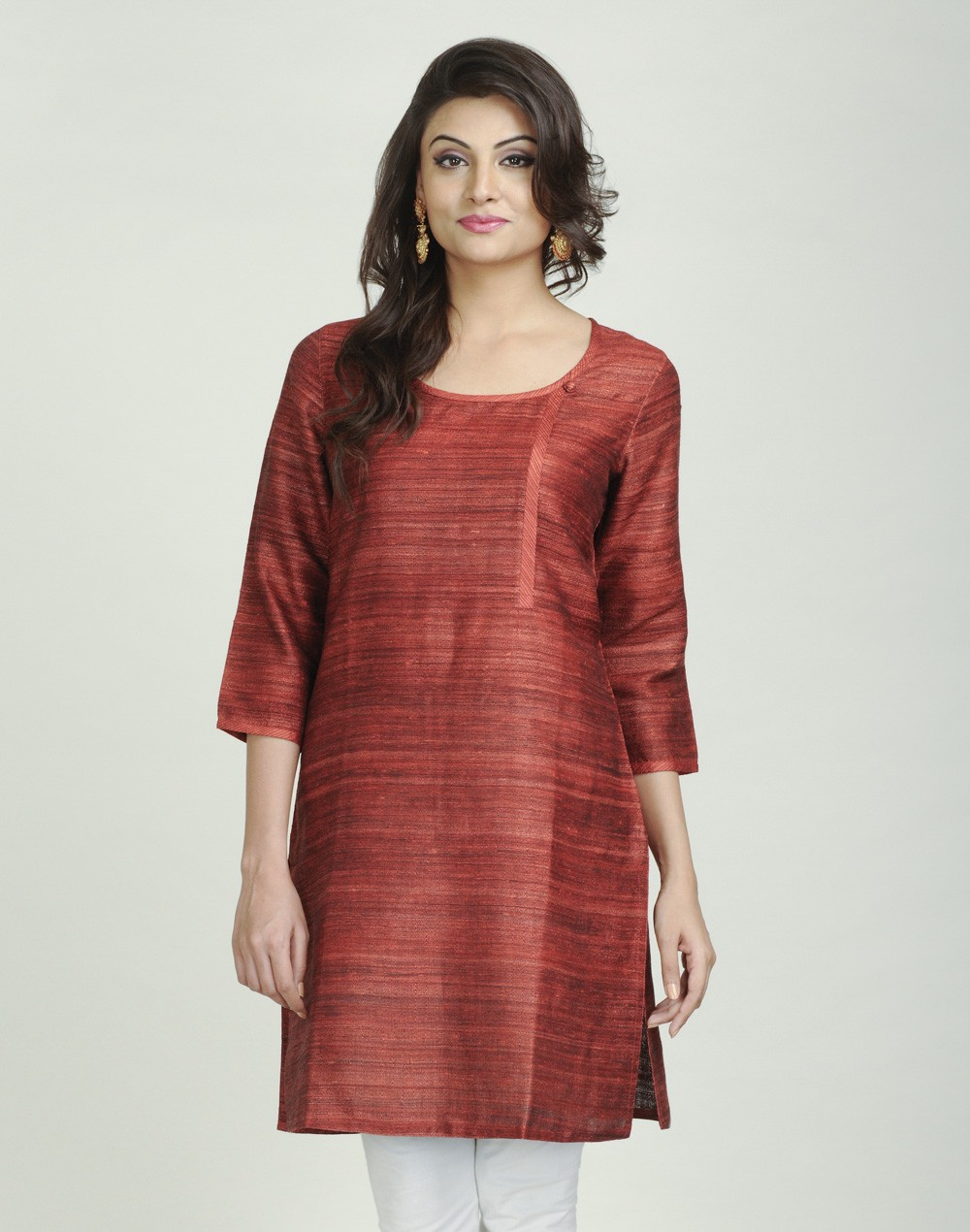 Latest Women Best Kurti Designs Collection For Winter by Fabindia 2015-2016 (27)