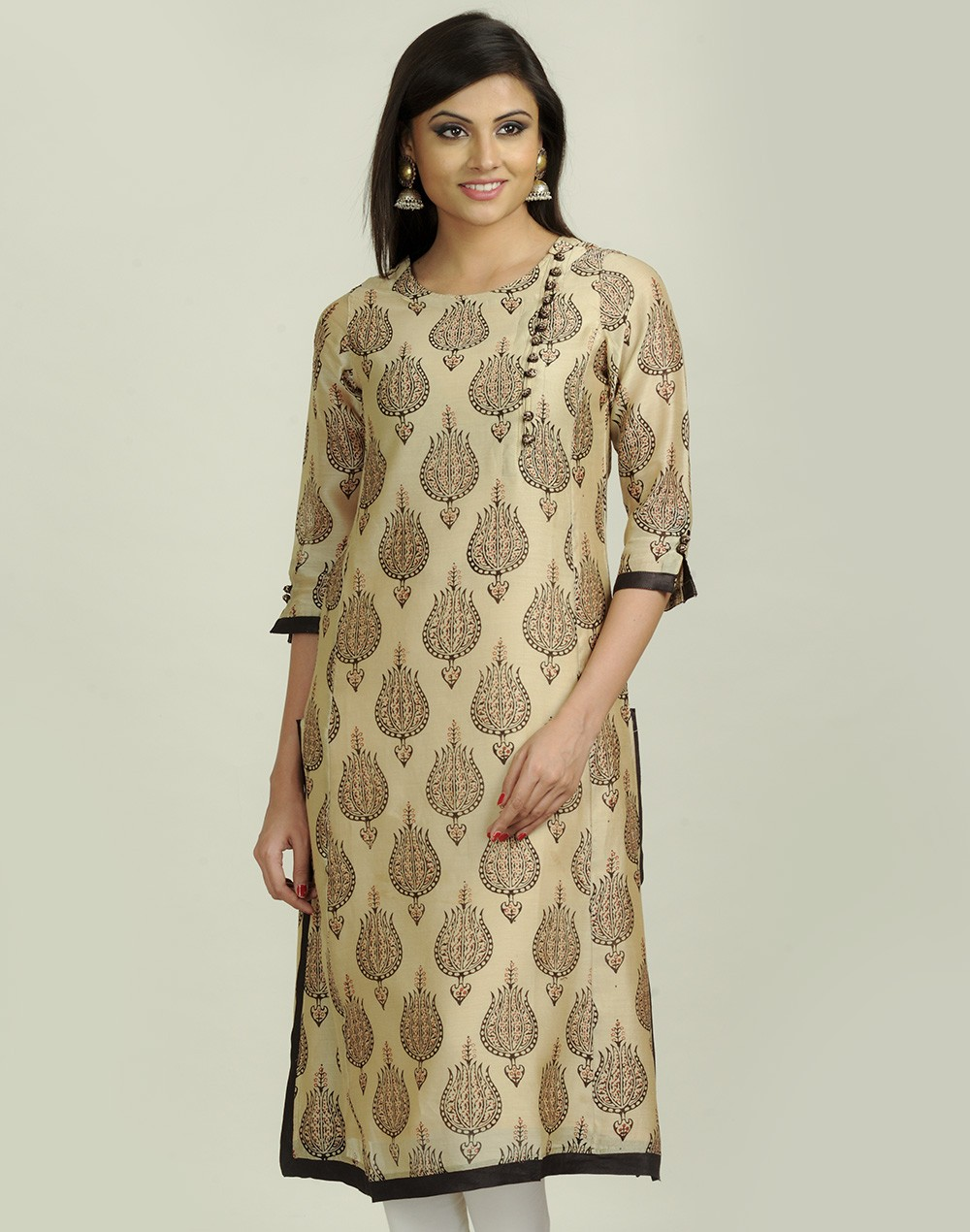 Latest Women Best Kurti Designs Collection For Winter by Fabindia 2015-2016 (29)