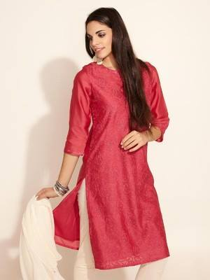 Latest Women Best Kurti Designs Collection For Winter by Fabindia 2015-2016 (3)