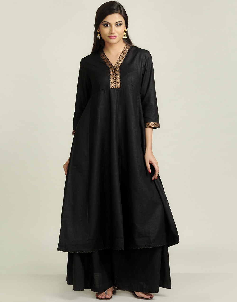 Latest Women Best Kurti Designs Collection For Winter by Fabindia 2015-2016 (31)