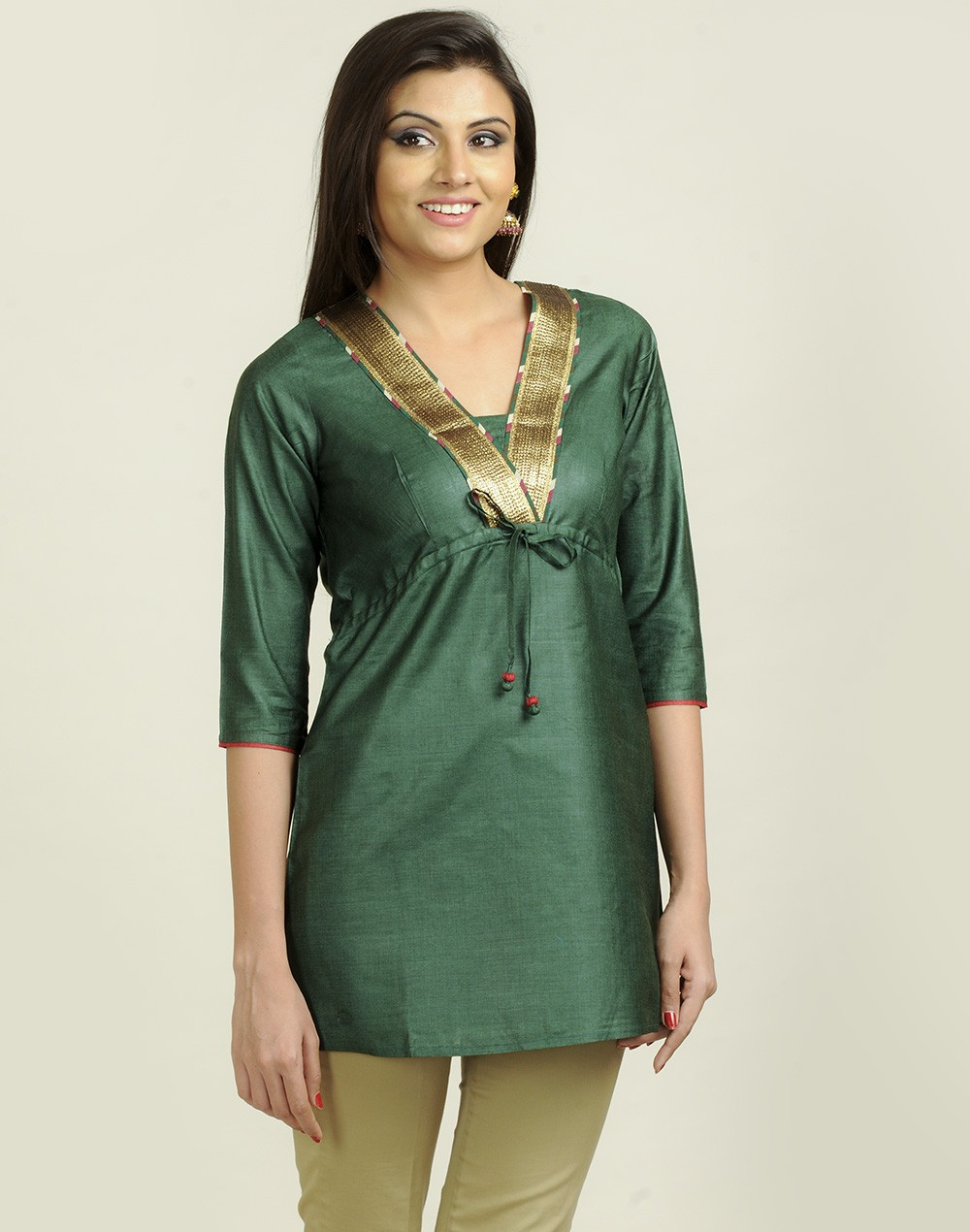 Latest Women Best Kurti Designs Collection For Winter by Fabindia 2015-2016 (32)